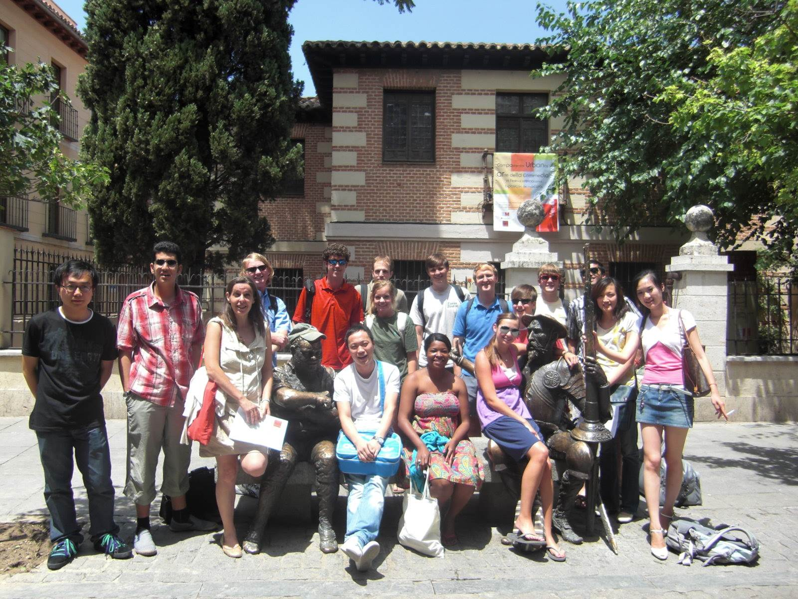Visit to the birthplace of Cervantes
