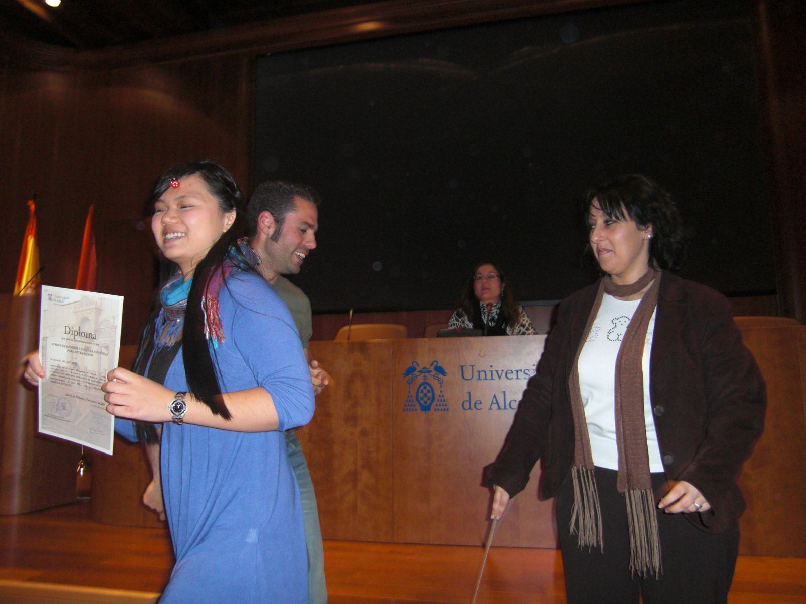 Closing ceremony (winter 2009)
