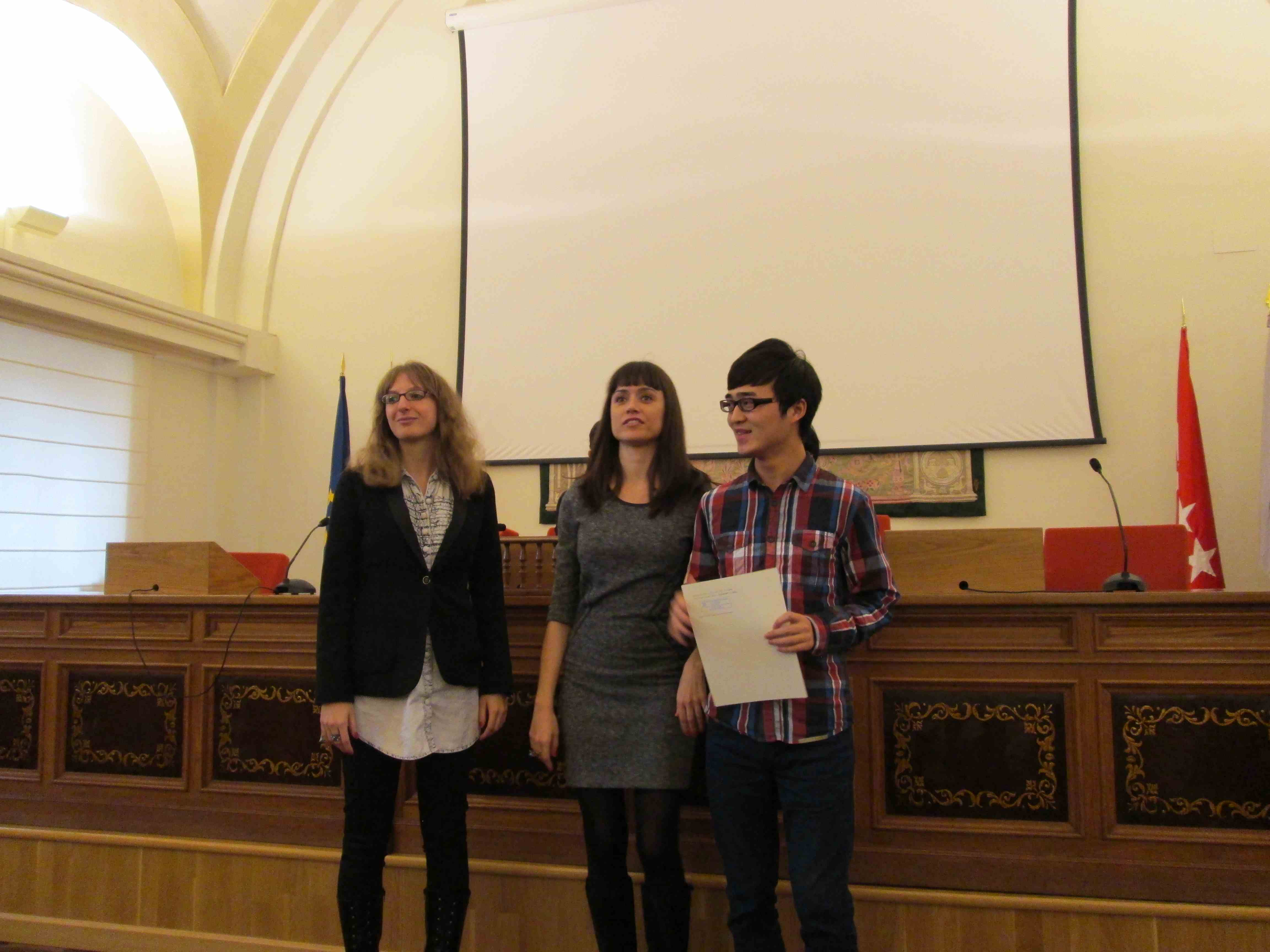 Closing ceremony (autumn 2012)