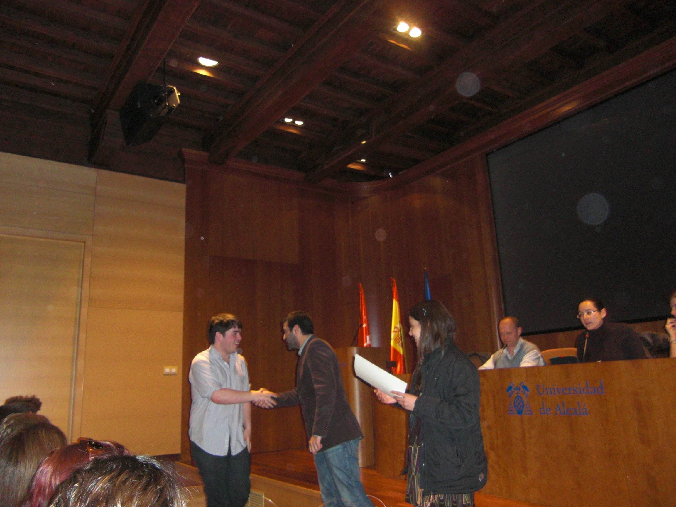 Closing ceremony (winter 2010)