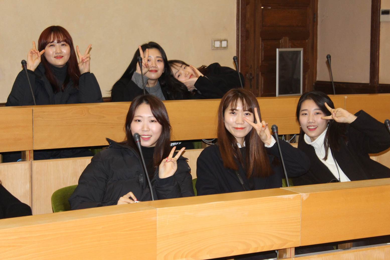 Closing ceremony (Gachon University Graduation, South Korea)